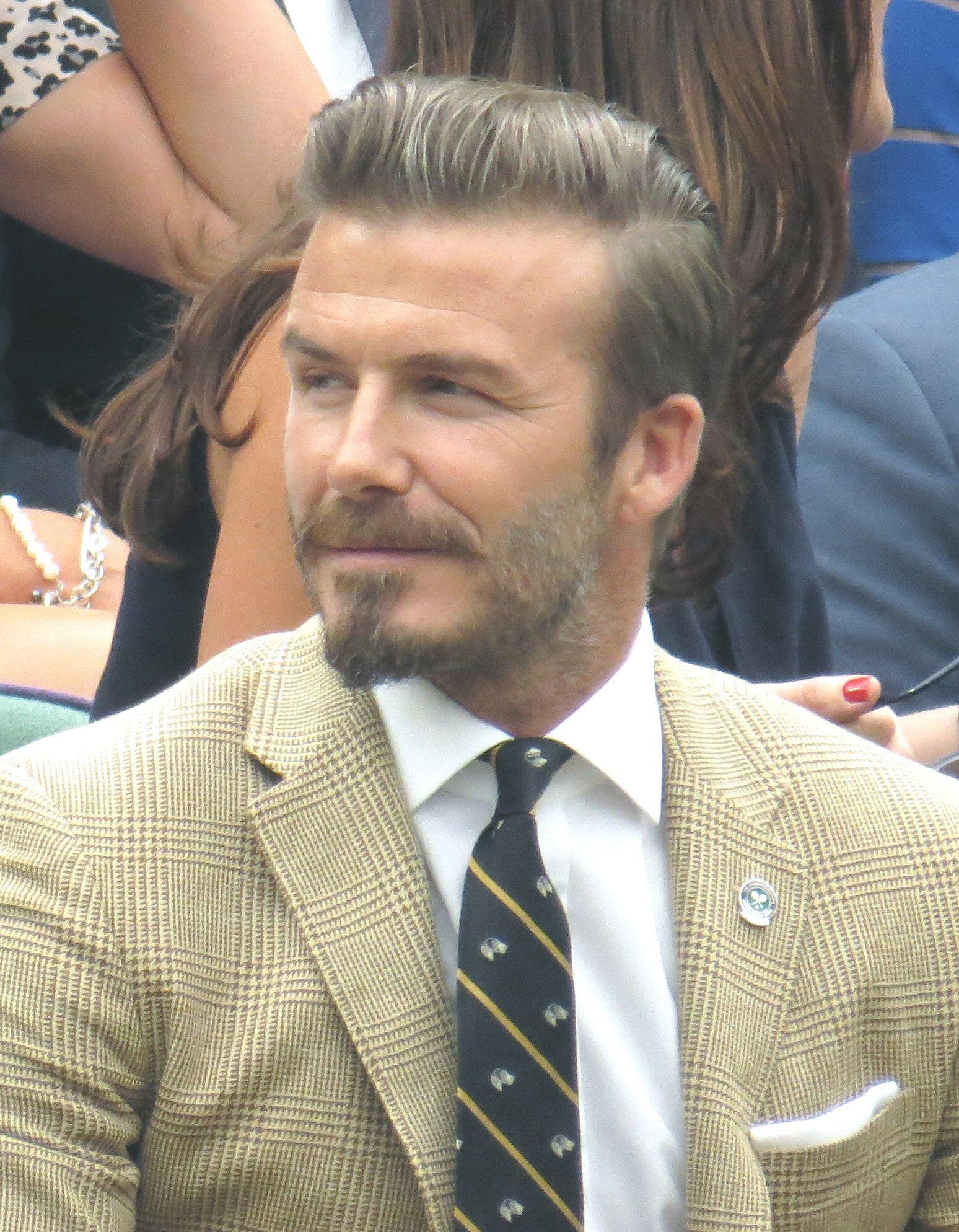 Photo of David Beckham: English footballer