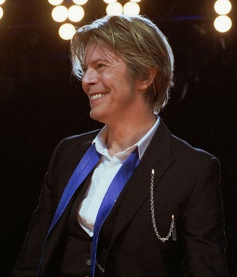Photo of David Bowie: British musician, actor, record producer and arranger
