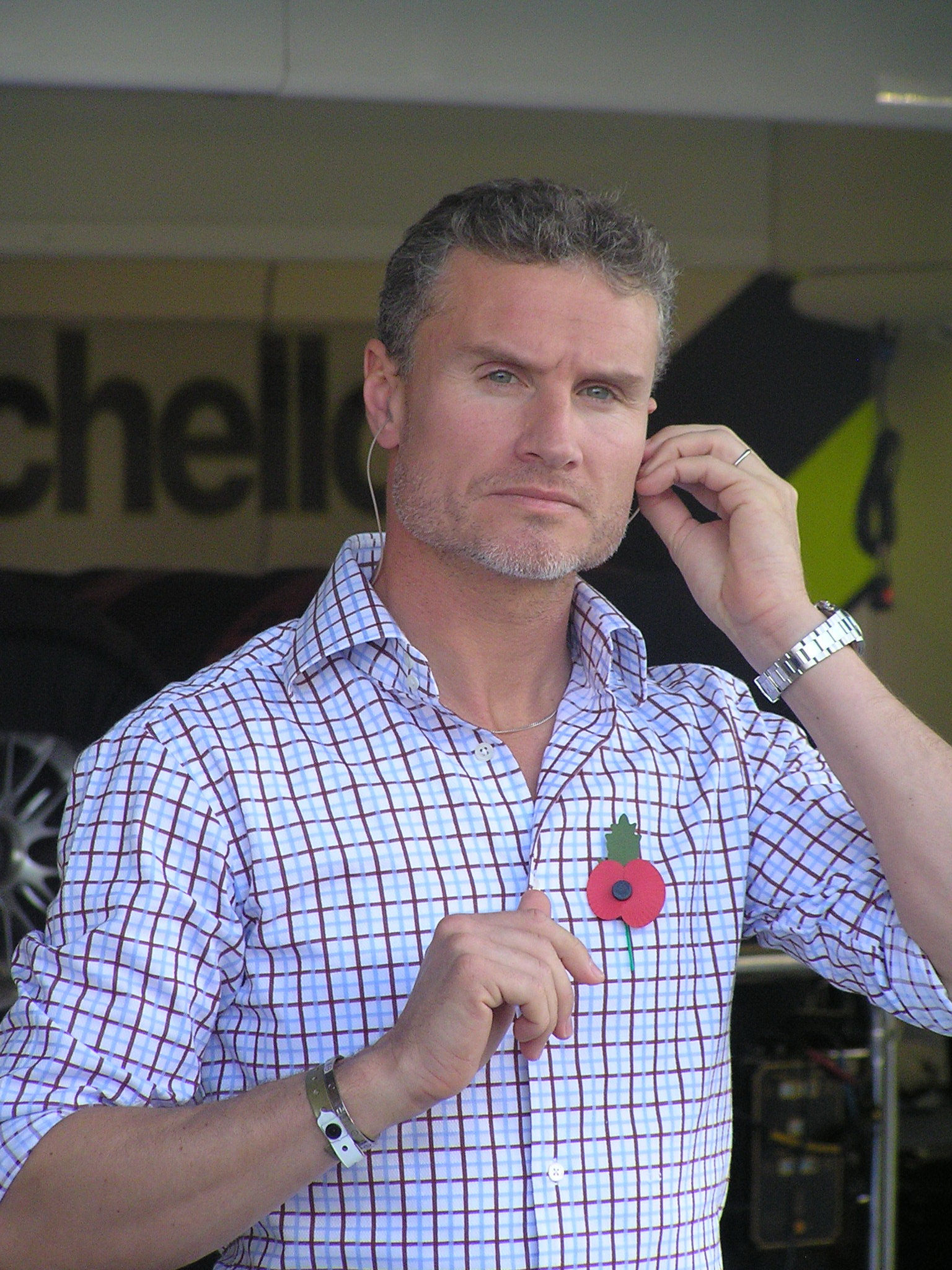 Photo of David Coulthard: British Formula One racing driver