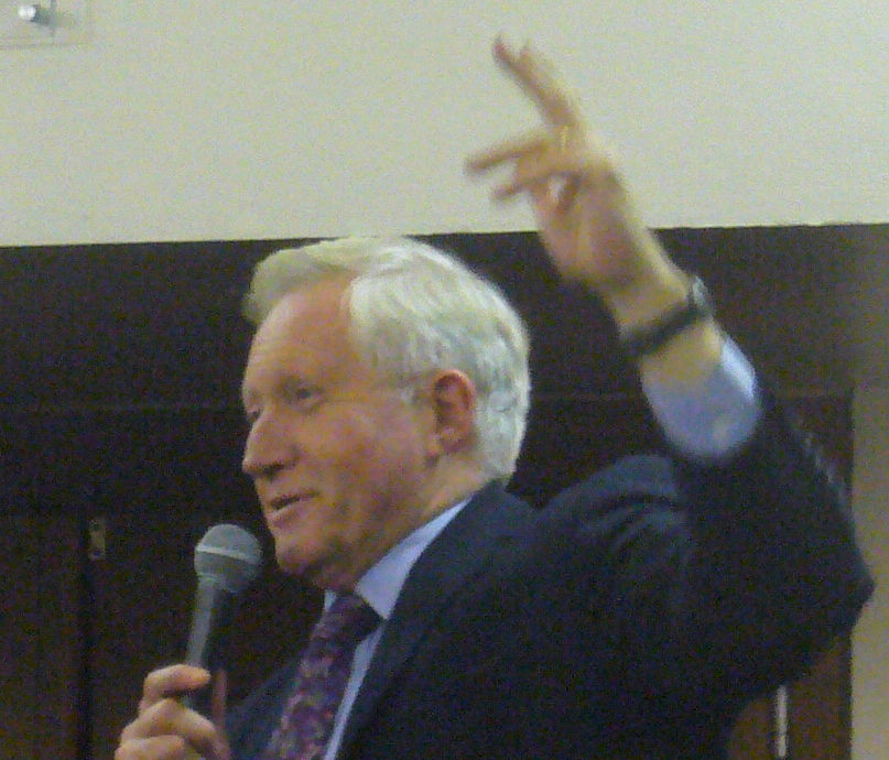 Photo of David Dimbleby: British commentator and a presenter