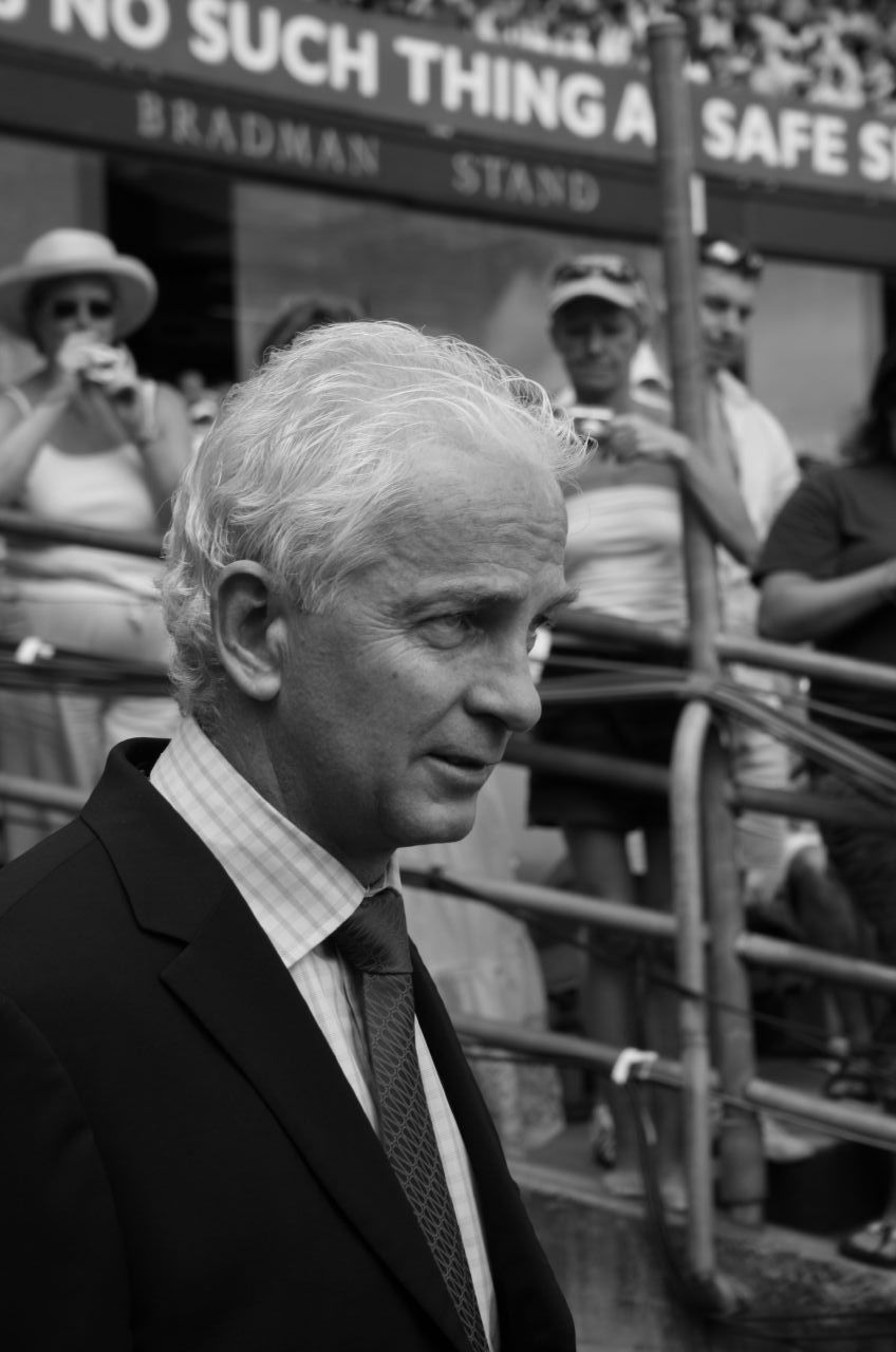 Photo of David Gower: Cricket player of England.
