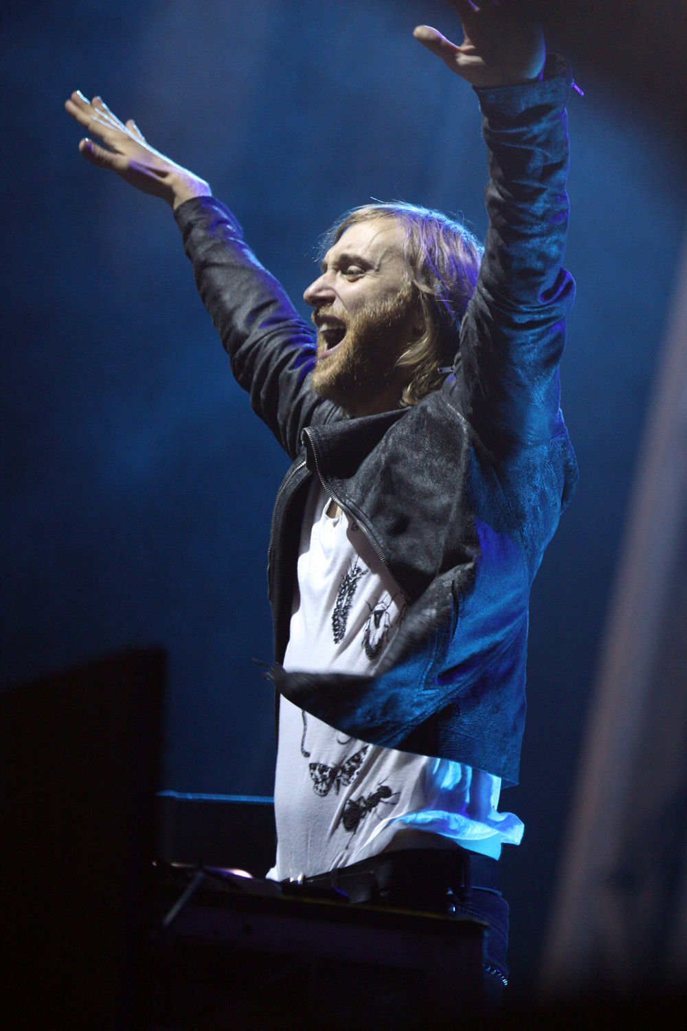 Photo of David Guetta: French house music producer and disc jockey