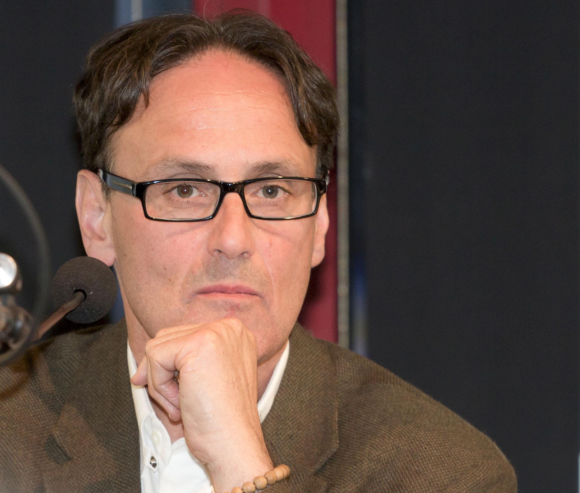 Photo of David Guterson: Novelist, short story writer, poet, journalist, and essayist