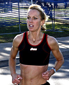 Photo of Desiree Ficker: American triathlete and distance runner