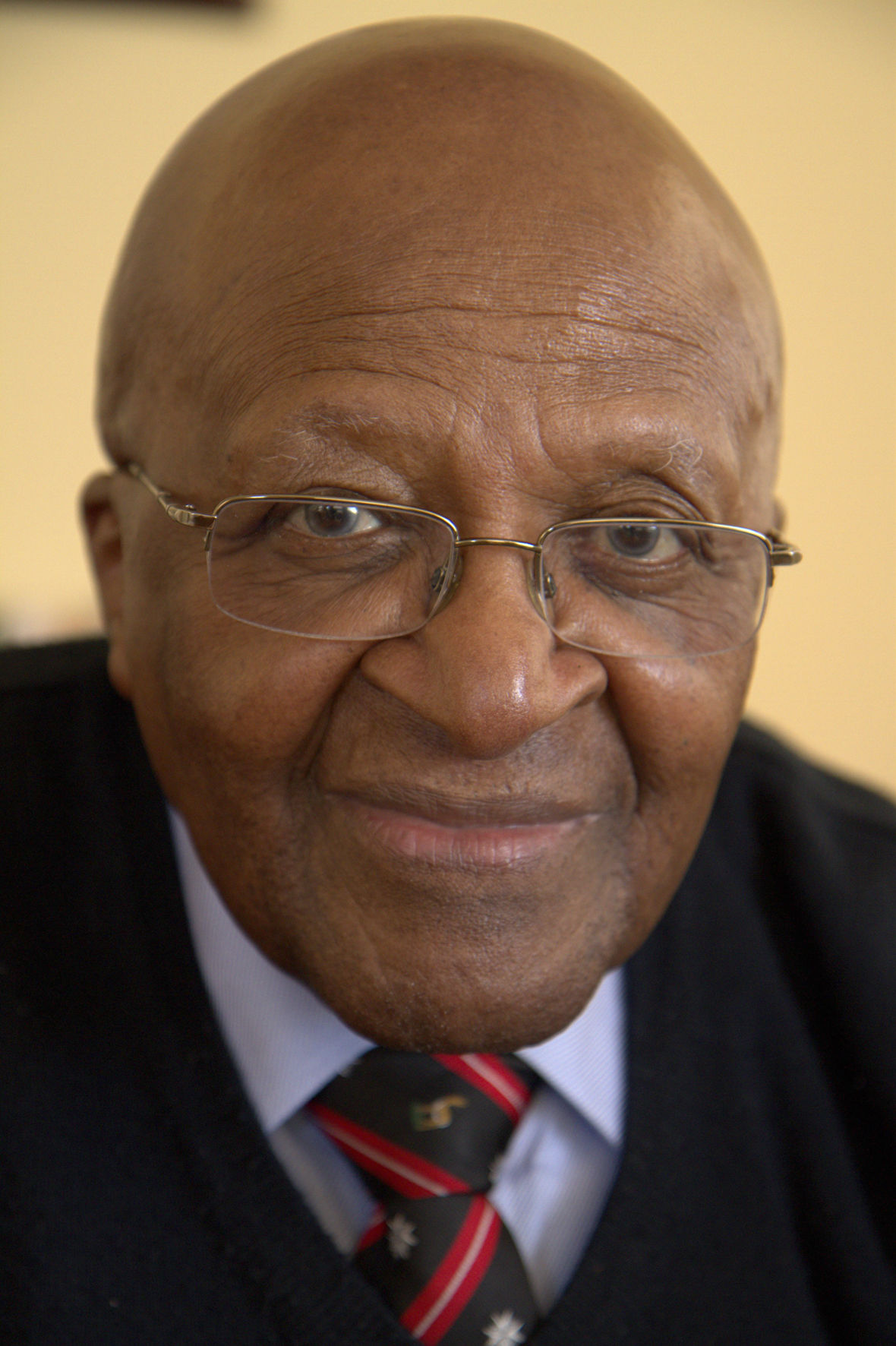 Photo of Desmond Tutu: South African churchman, politician, archbishop, Nobel Prize winner