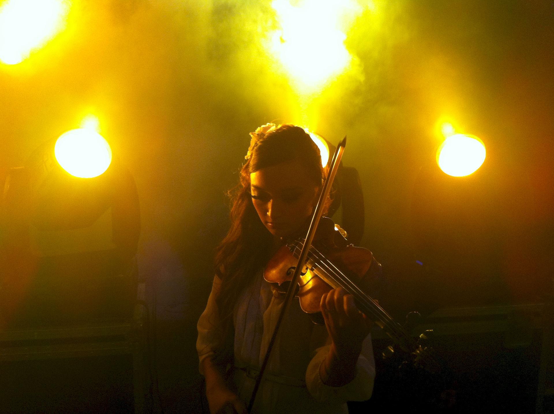 Photo of Diana Yukawa: English violinist