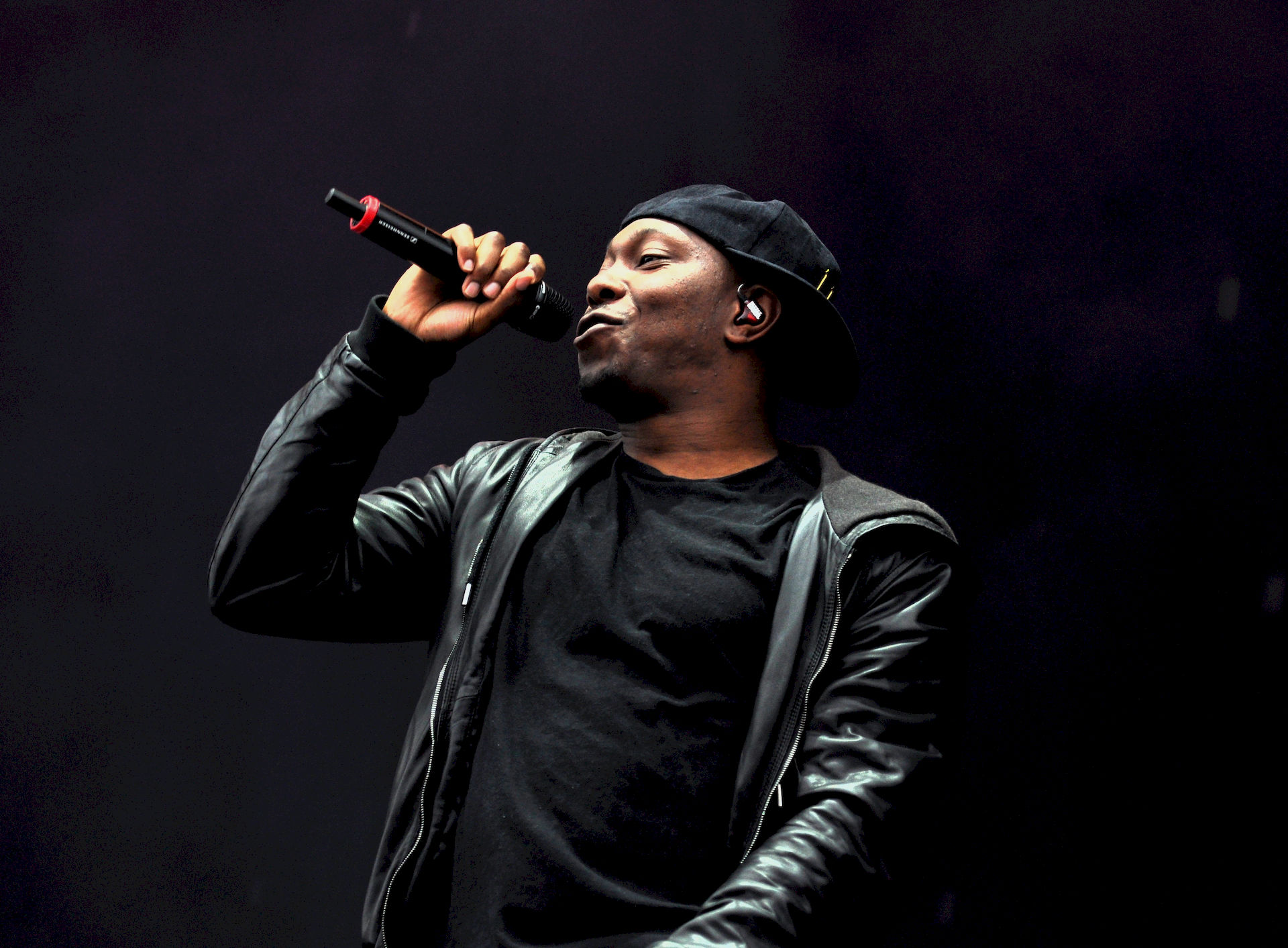 Photo of Dizzee Rascal: English grime MC, songwriter and record producer