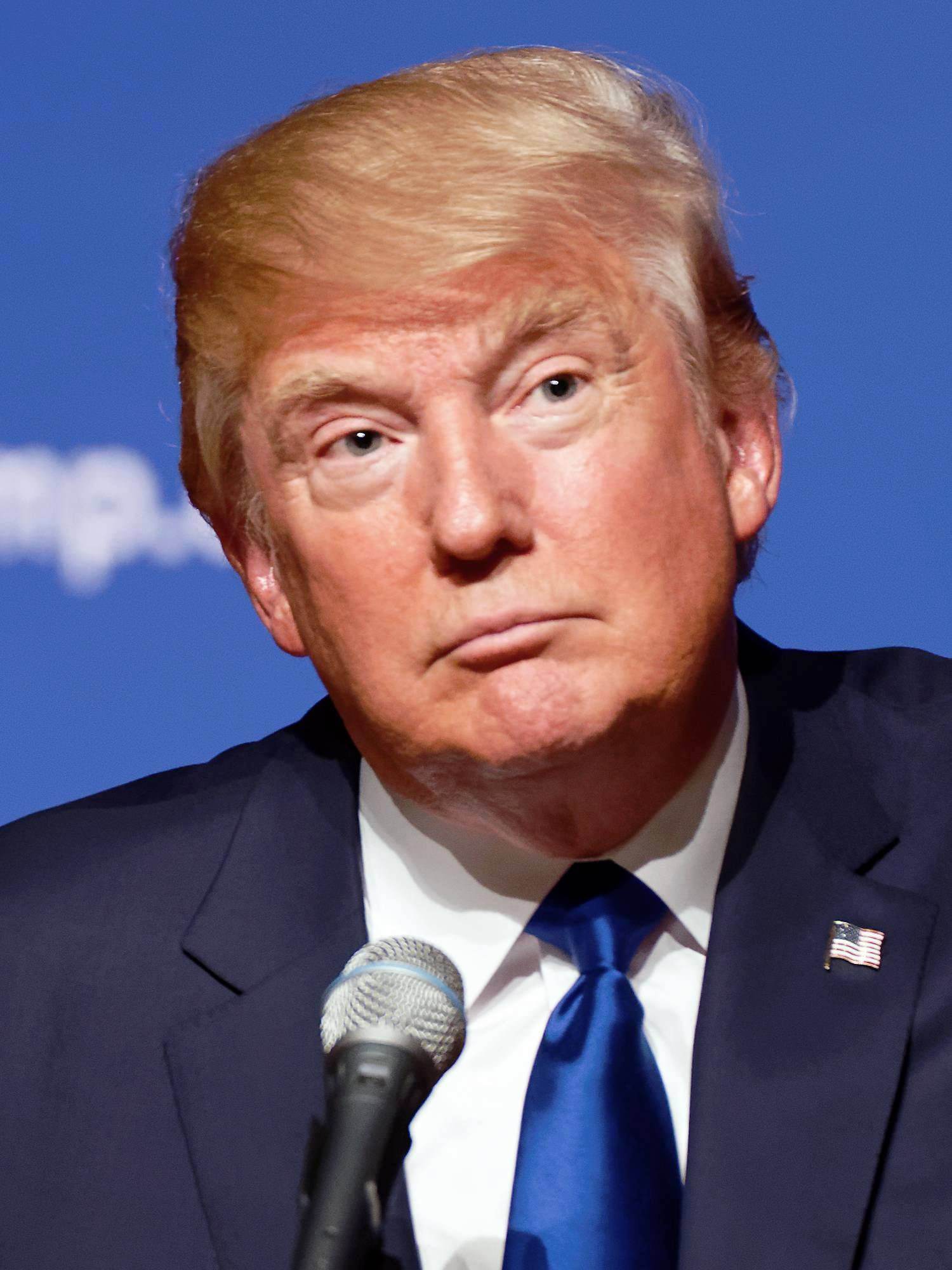 Photo of Donald Trump: American business magnate, television personality, author and politician
