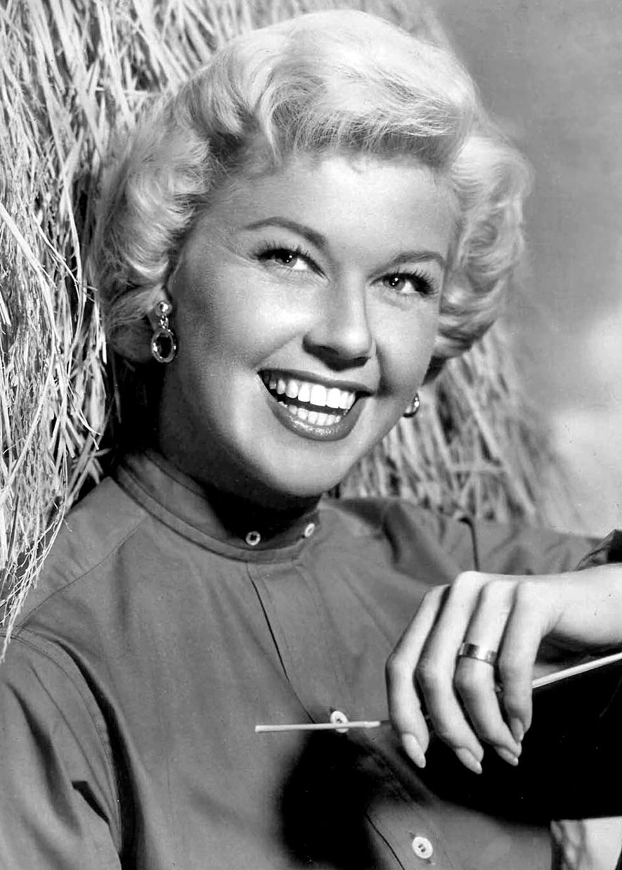 Photo of Doris Day: American actress, singer, and animal rights activist
