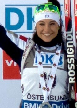 Photo of Dorothea Wierer: Italian biathlete