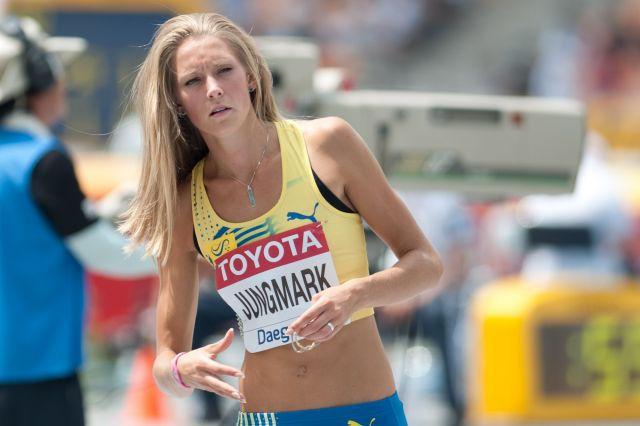 Photo of Ebba Jungmark: Swedish high jumper