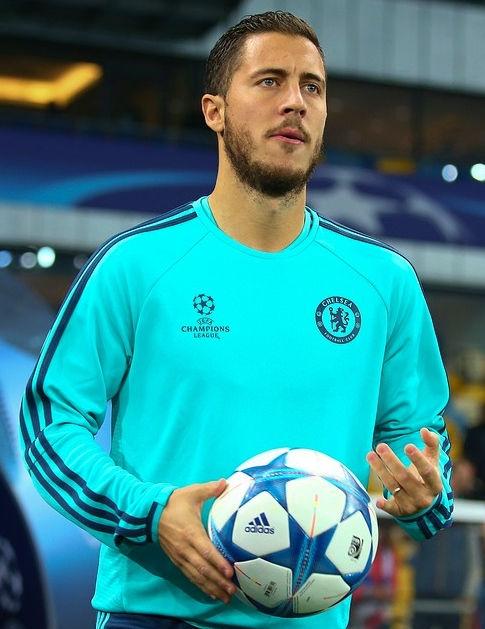 Photo of Eden Hazard: Belgian footballer