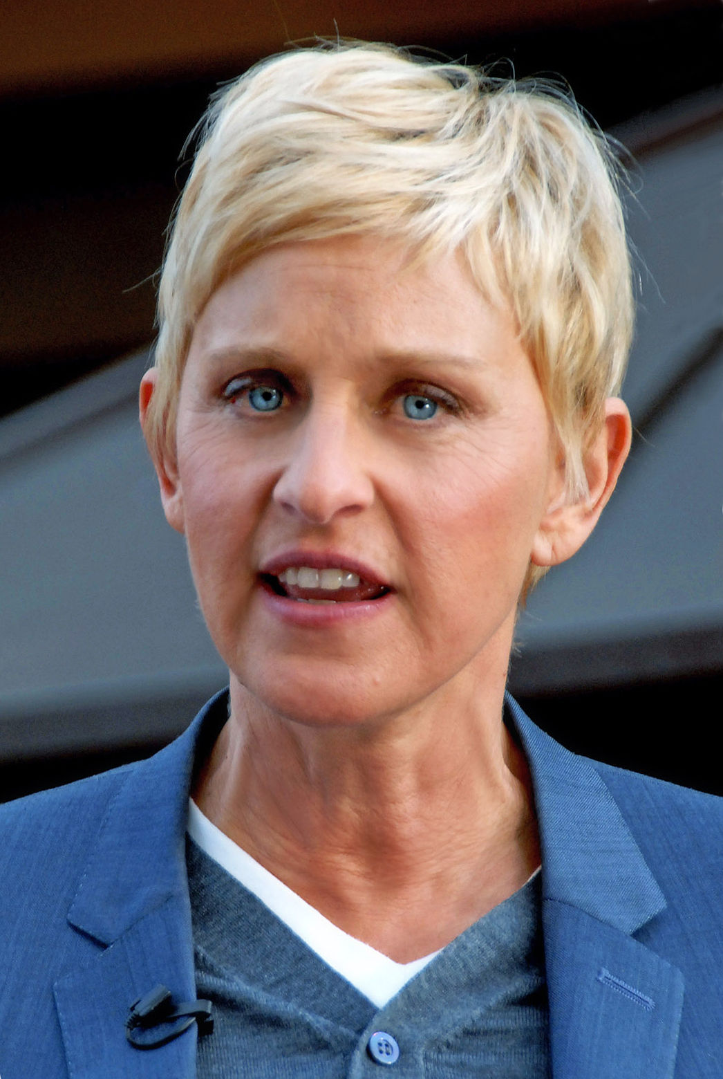 Photo of Ellen DeGeneres: American stand-up comedian, television host, and actress