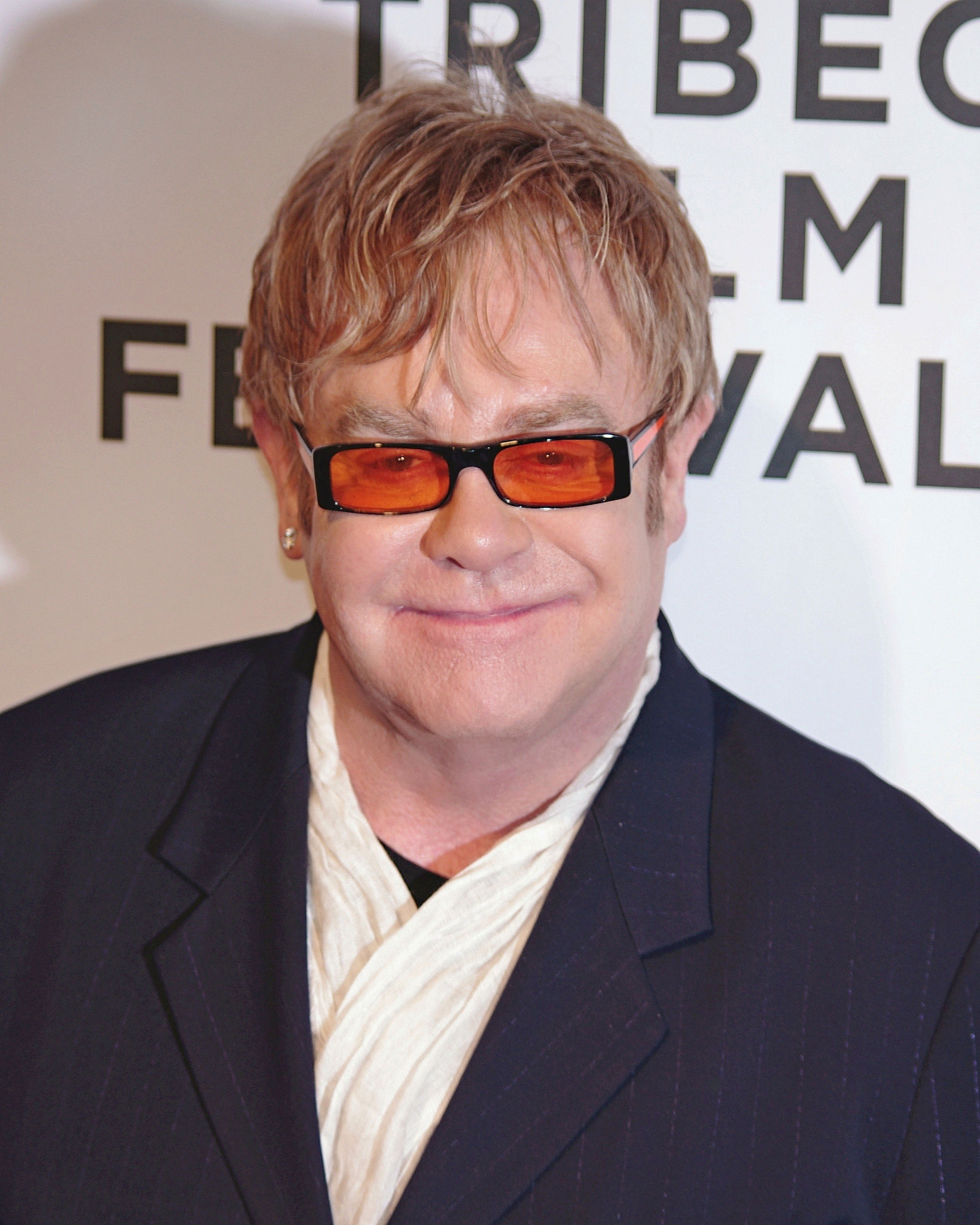 Photo of Elton John: English rock singer-songwriter, composer and pianist