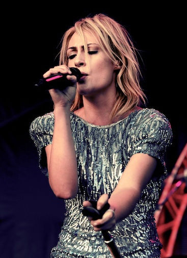 Photo of Emily Haines: Canadian singer-songwriter