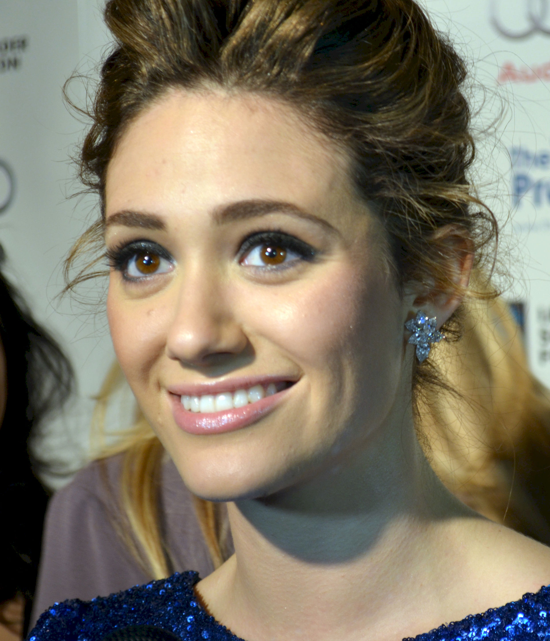 Photo of Emmy Rossum: American actress and singer-songwriter