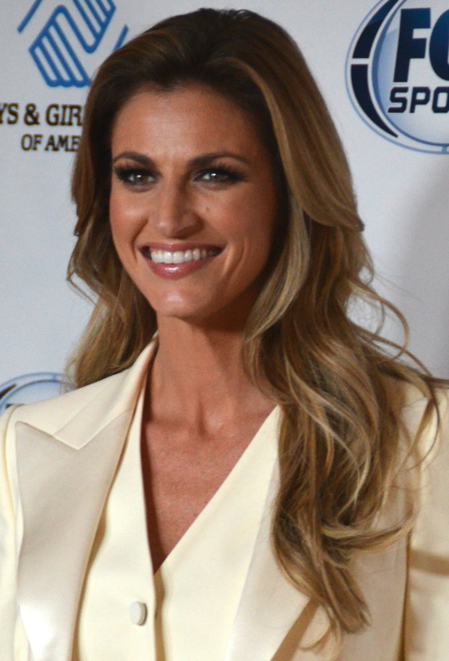 Photo of Erin Andrews: Television sports reporter for ESPN
