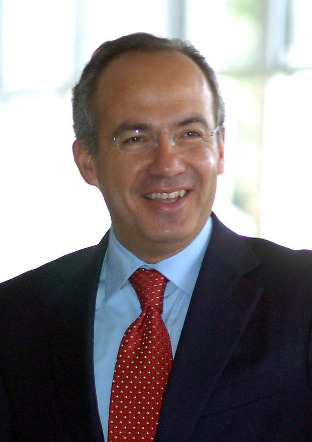 Photo of Felipe Calderón: 56th President of Mexico