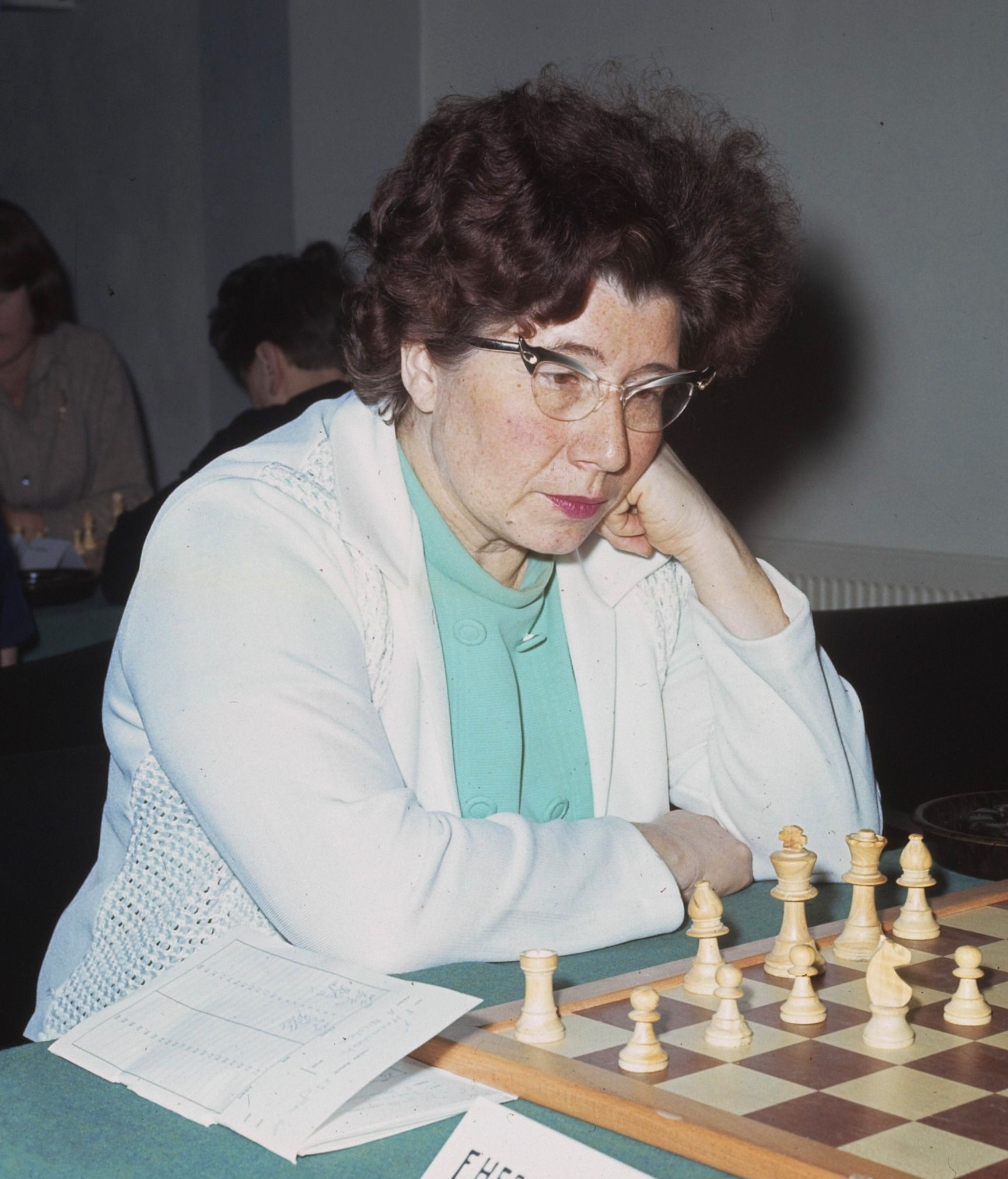 Photo of Fenny Heemskerk: Dutch chess player