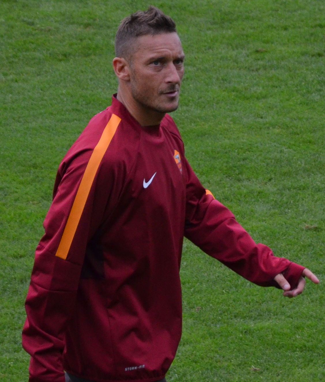 Photo of Francesco Totti: Italian footballer
