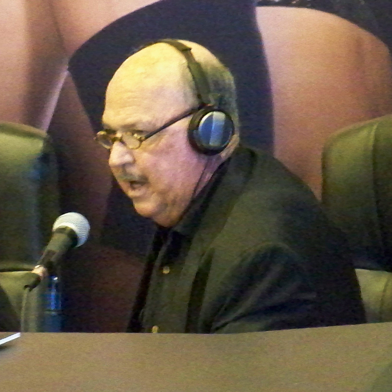 Photo of Gene Okerlund: American professional wrestling interviewer and announcer