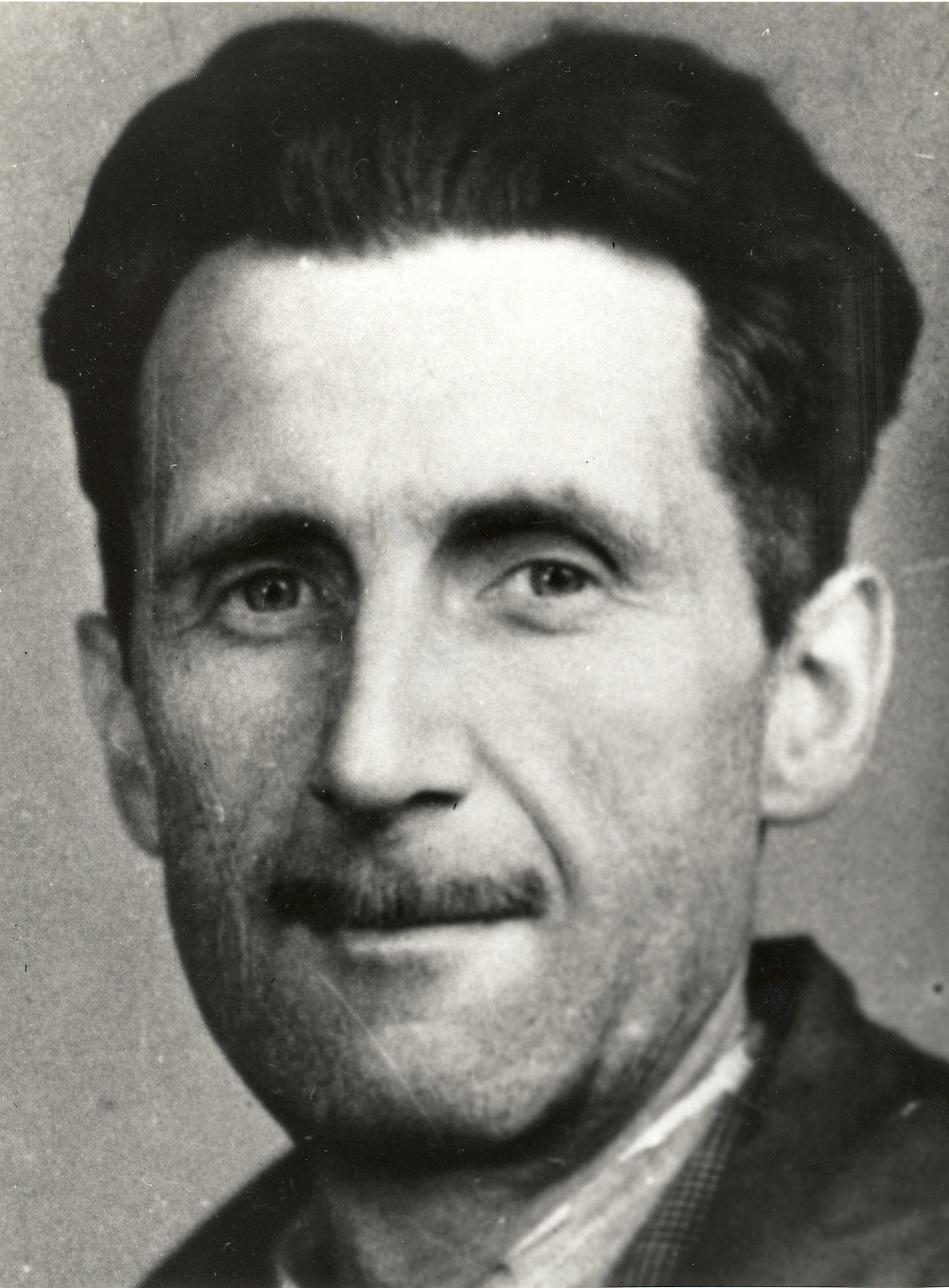 Photo of George Orwell: English author and journalist