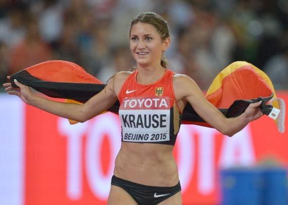 Photo of Gesa Felicitas Krause: German athlete