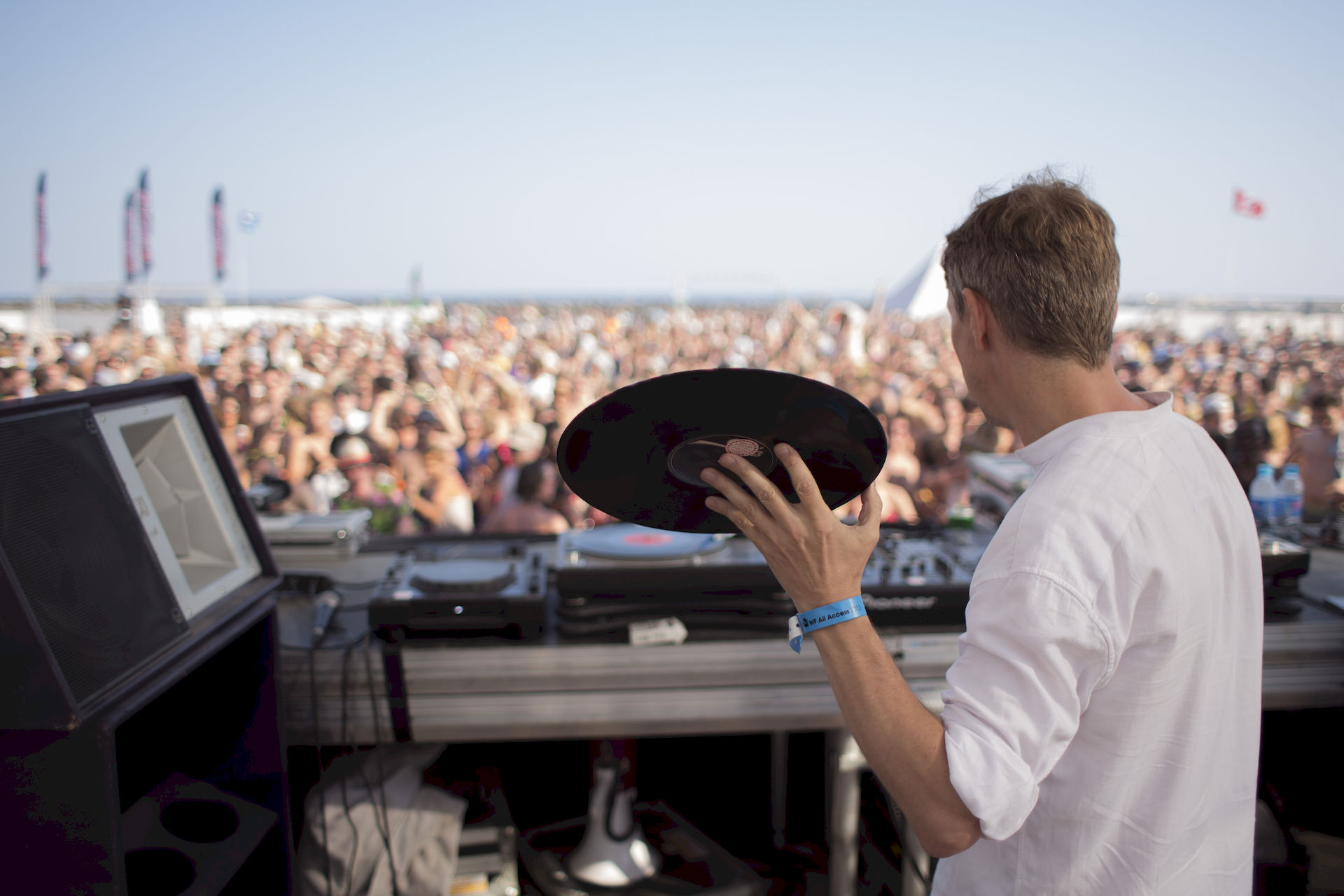 Photo of Gilles Peterson: DJ, record collector