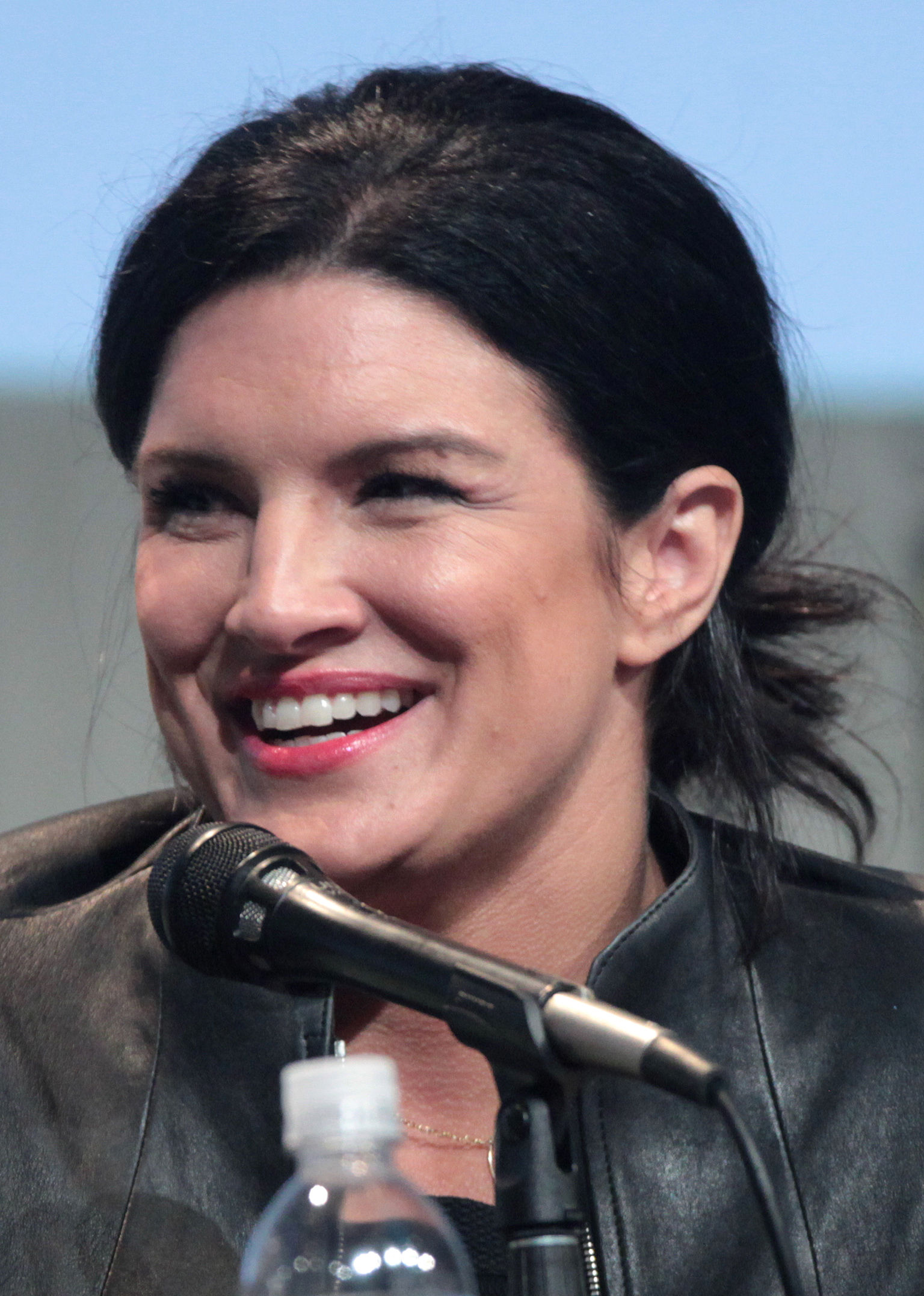 Photo of Gina Carano: American actress, television personality, fitness model and a former mixed martial artist. , born 1982.