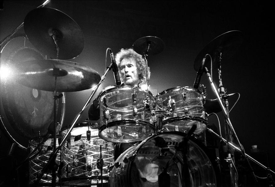 Photo of Ginger Baker: English rock drummer
