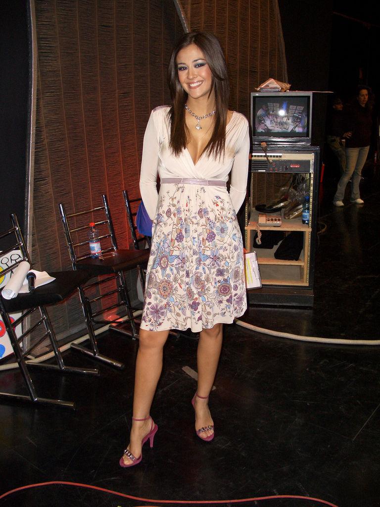 Photo of Giorgia Palmas: Italian television personality and model.