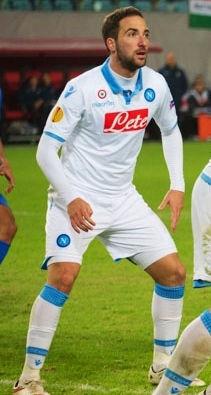 Photo of Gonzalo Higuaín: Argentine footballer
