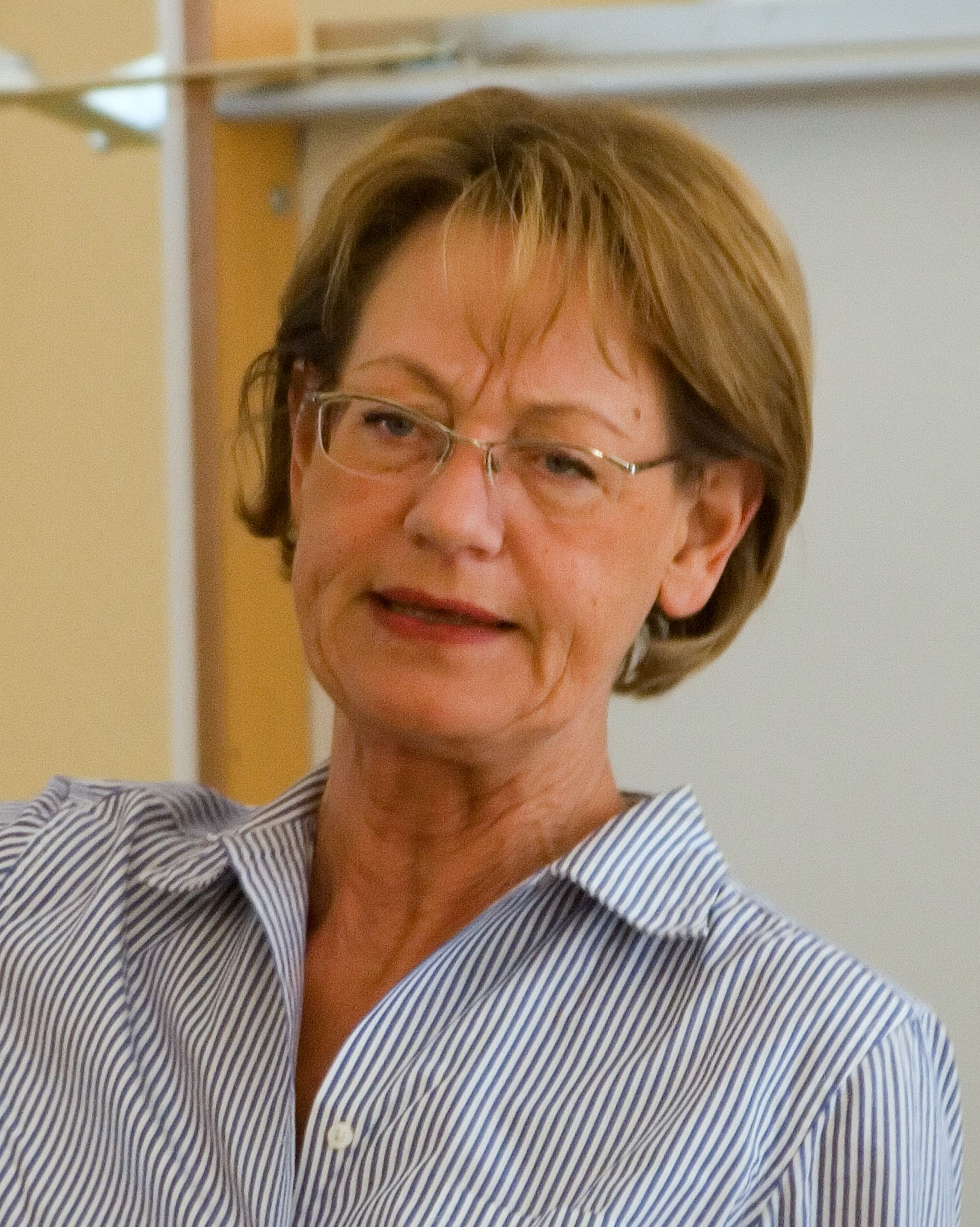 Photo of Gudrun Schyman: Swedish politician and feminist