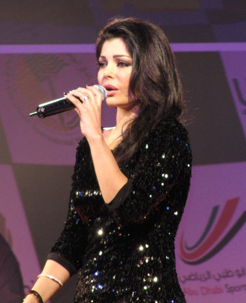 Photo of Haifa Wehbe: Iranin singer, model