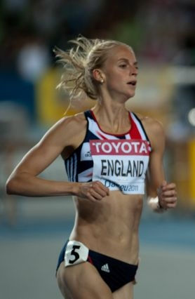 Photo of Hannah England: British middle-distance runner