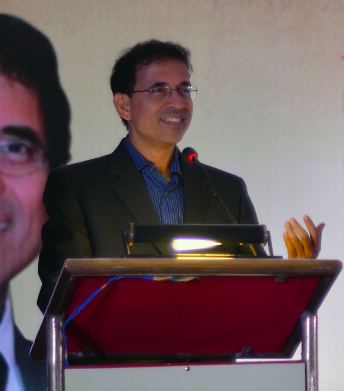 Photo of Harsha Bhogle: Indian cricket commentator