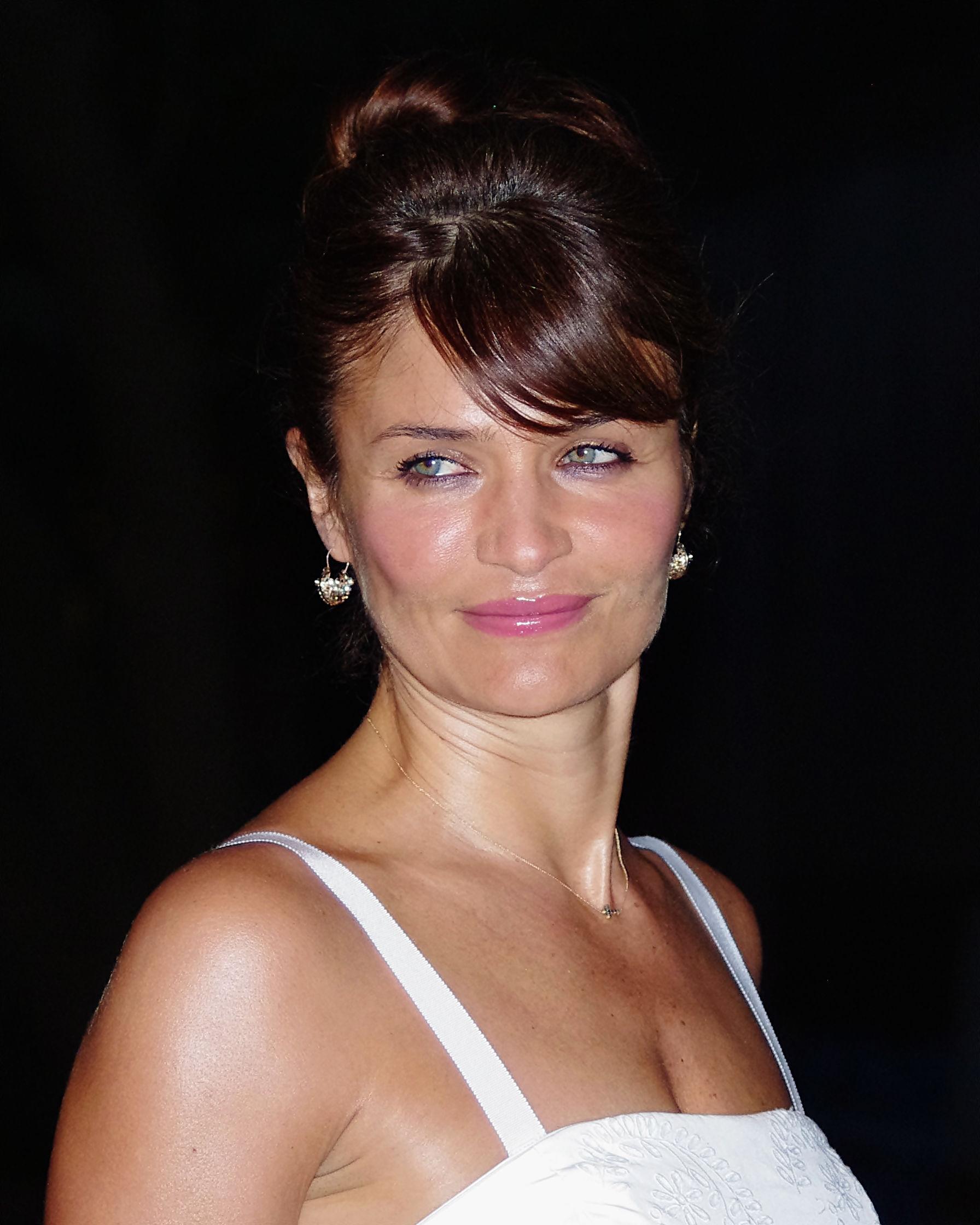 Photo of Helena Christensen: Danish model and photographer
