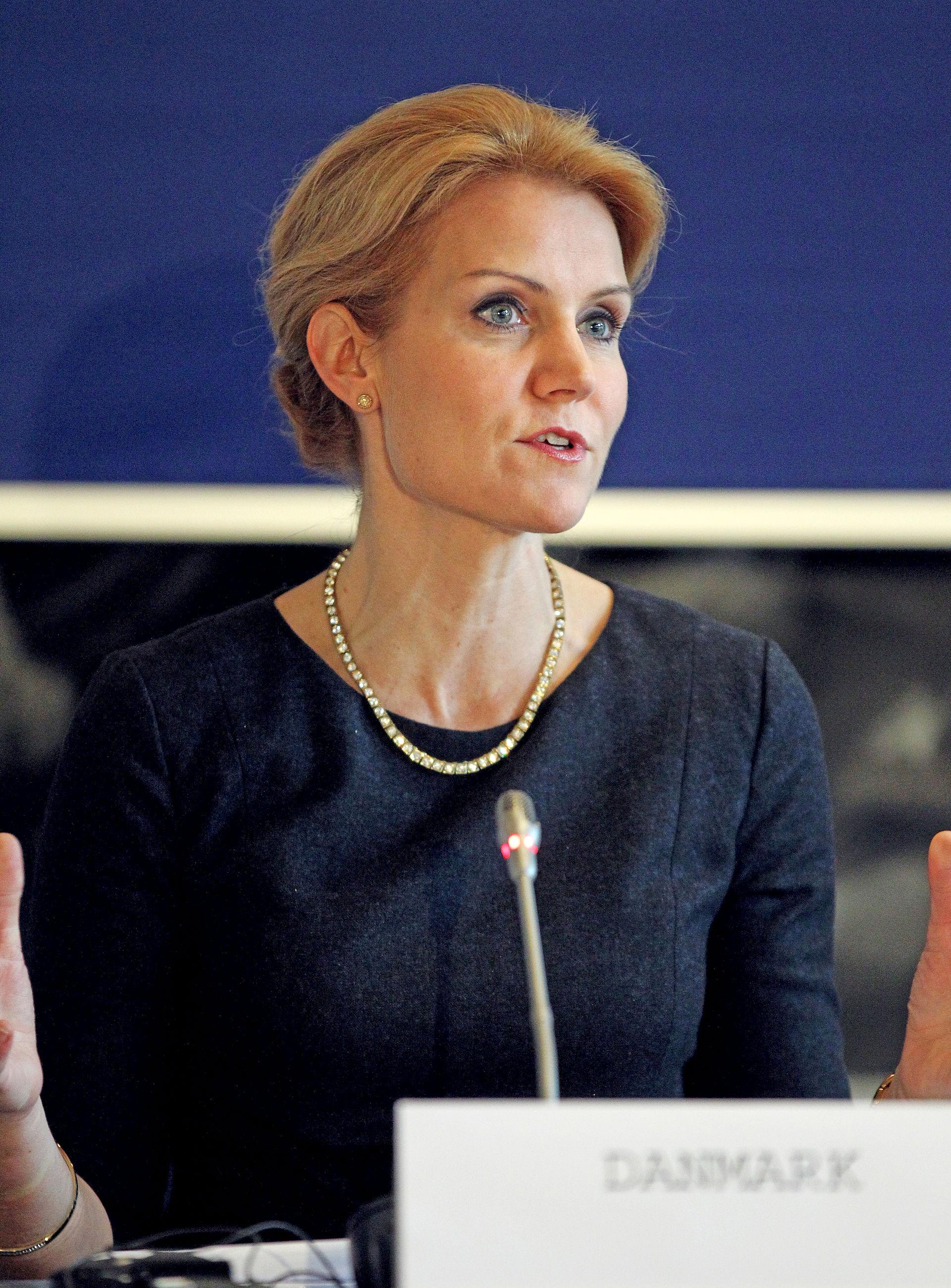 Photo of Helle Thorning-Schmidt: Danish politician, former Danish Prime Minister