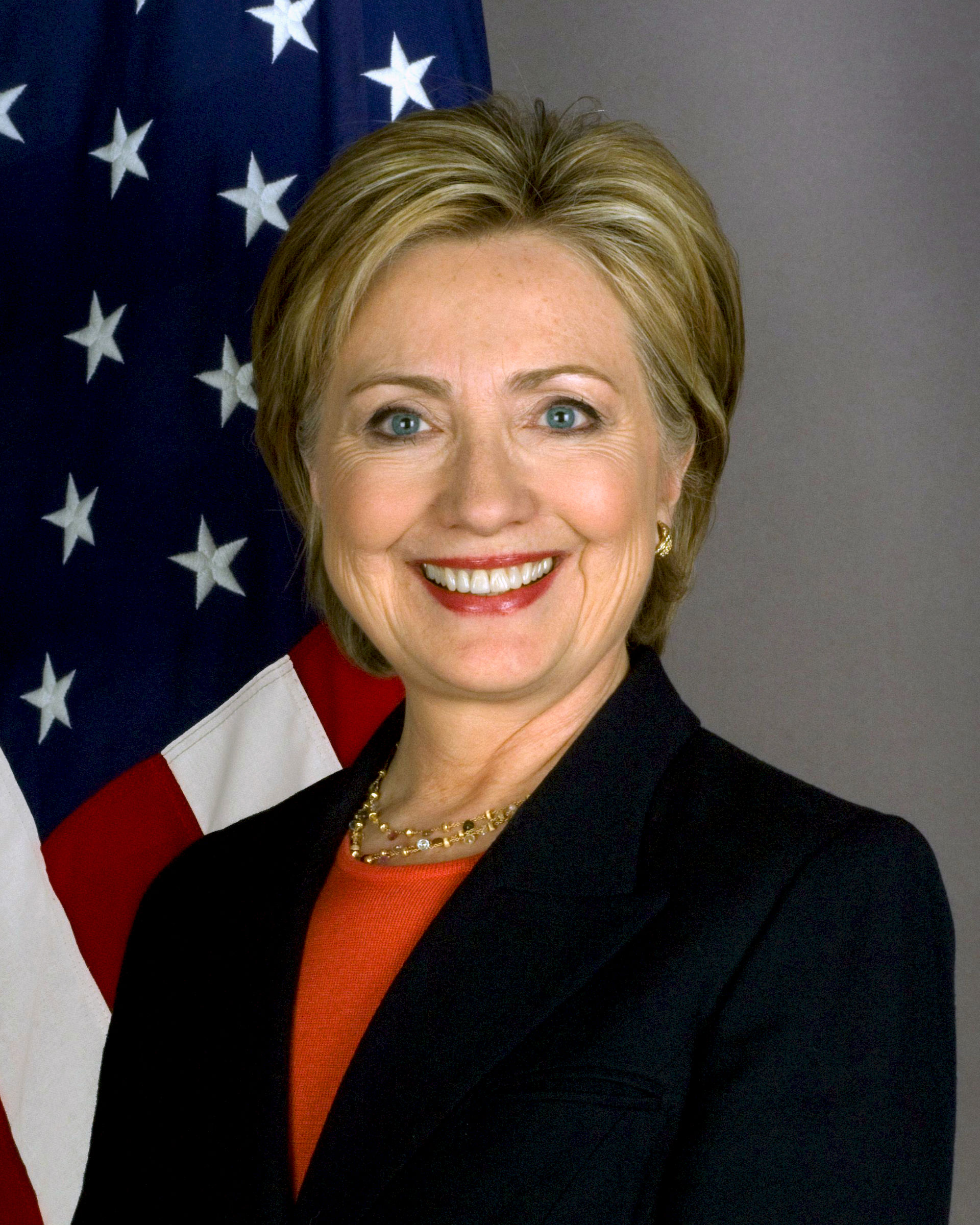 Photo of Hillary Clinton: American politician, former First Lady of the United States, U.S. Senator, and Secretary of State