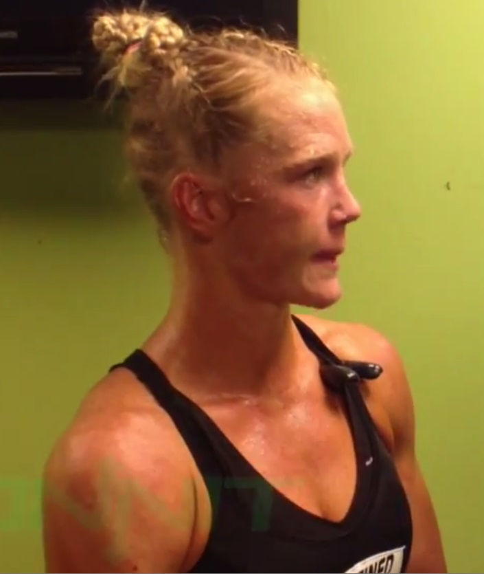 Photo of Holly Holm: American boxer