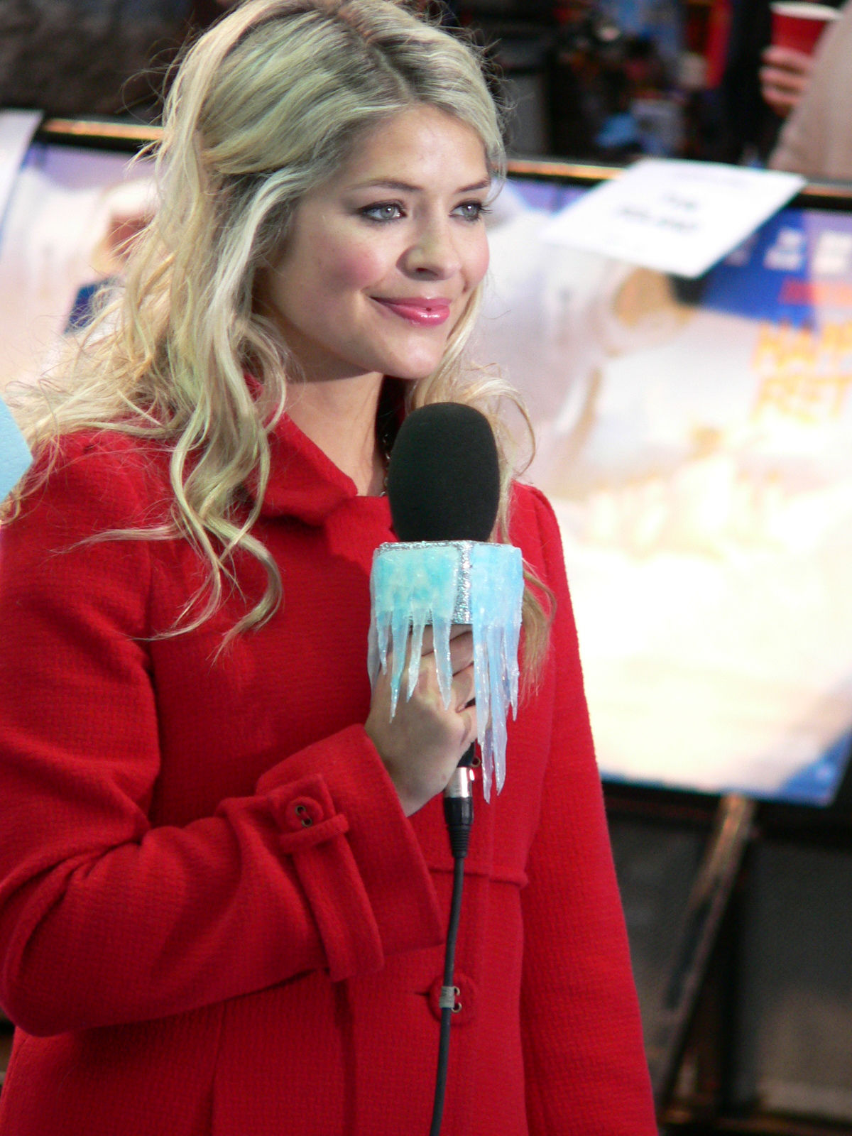 Photo of Holly Willoughby: English television presenter and fashion model
