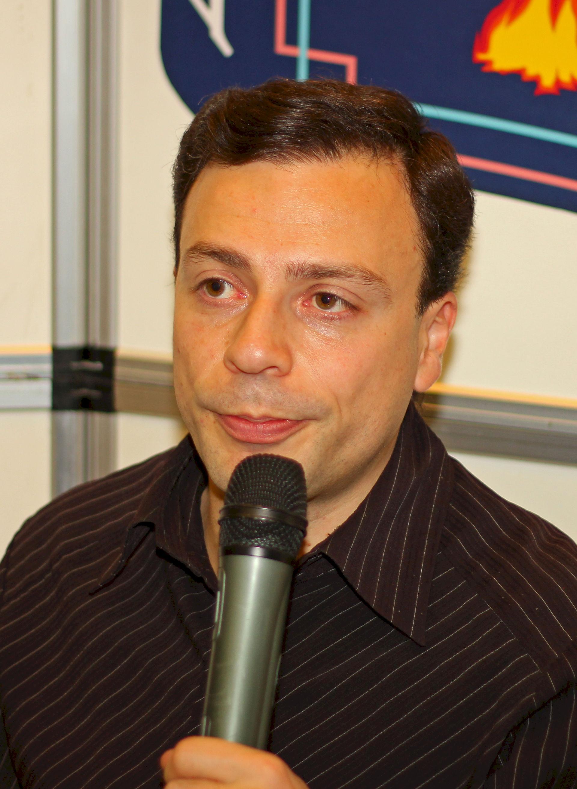Photo of Igor Rabiner: Russian sports journalist