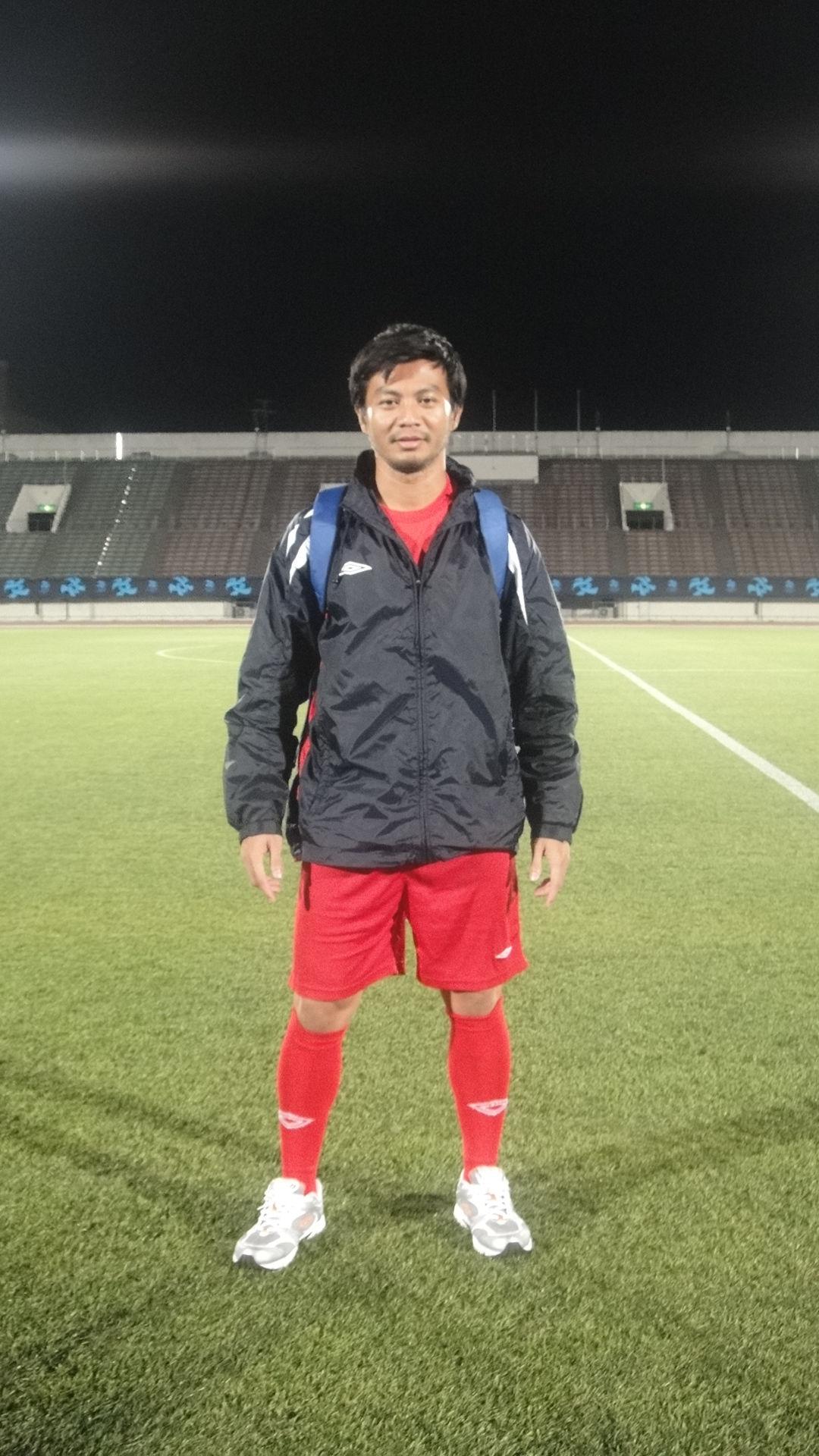 Photo of Indra Sahdan Daud: Singaporean footballer