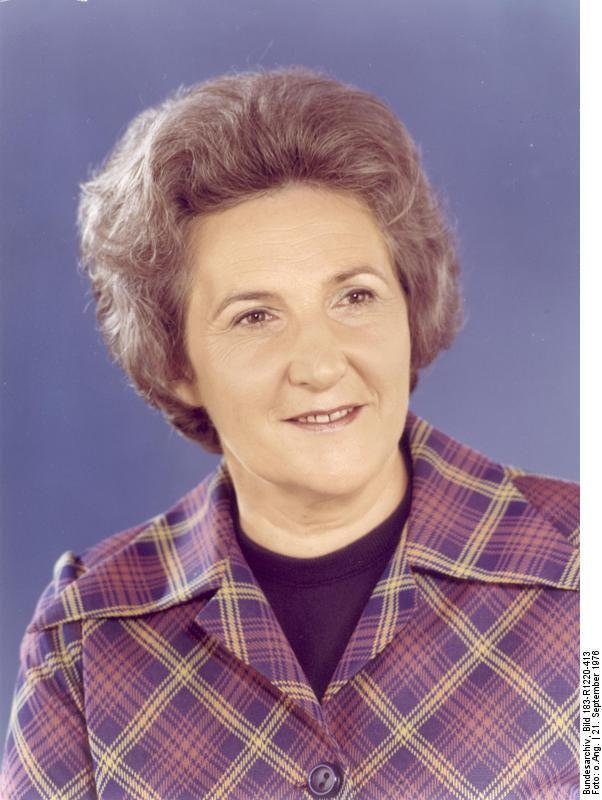Photo of Ingeburg Lange: German politician