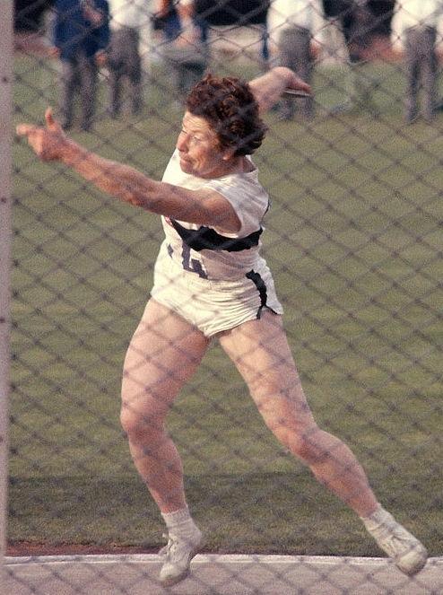 Photo of Ingrid Lotz: German discus thrower