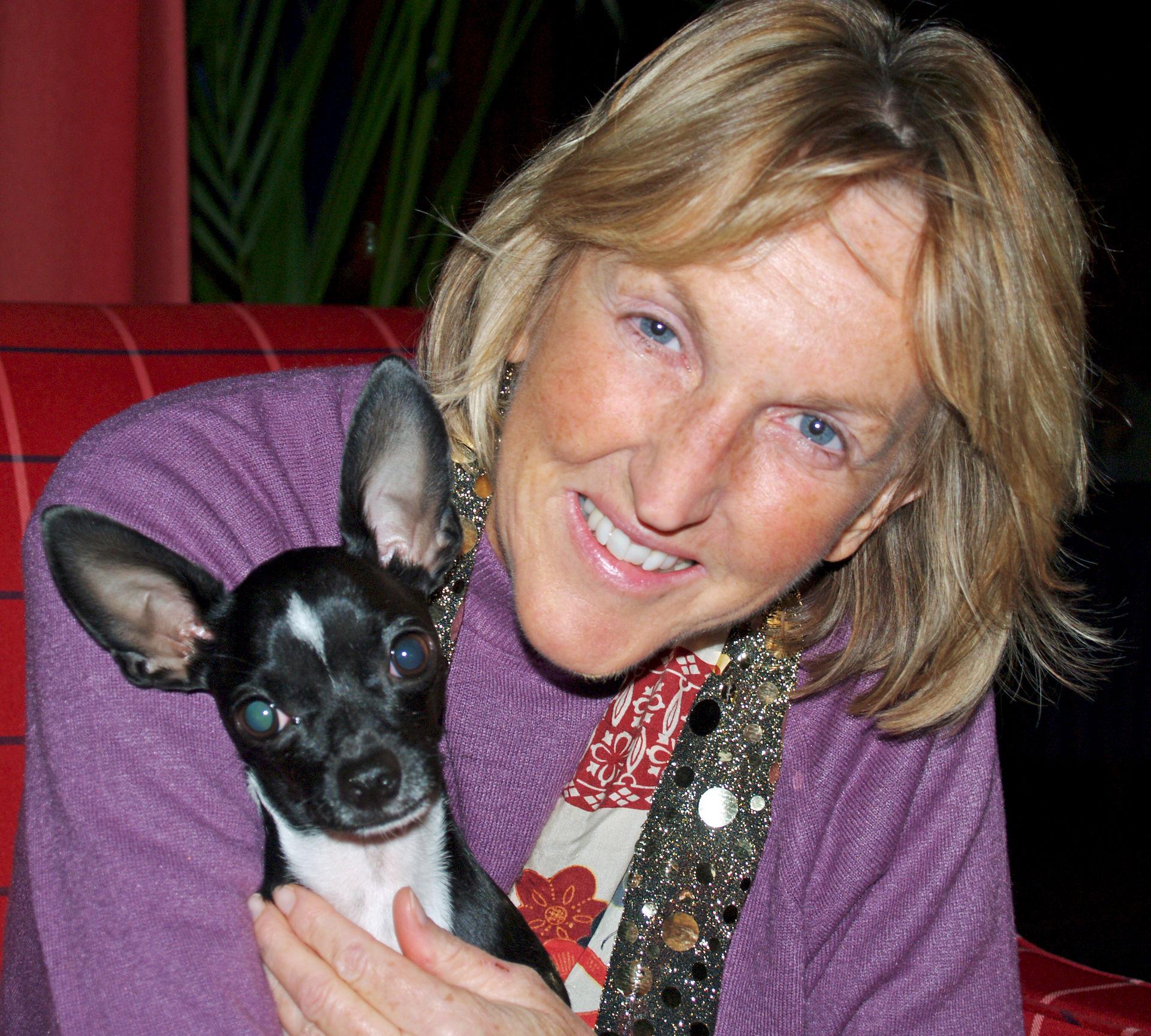 Photo of Ingrid Newkirk: British-American activist