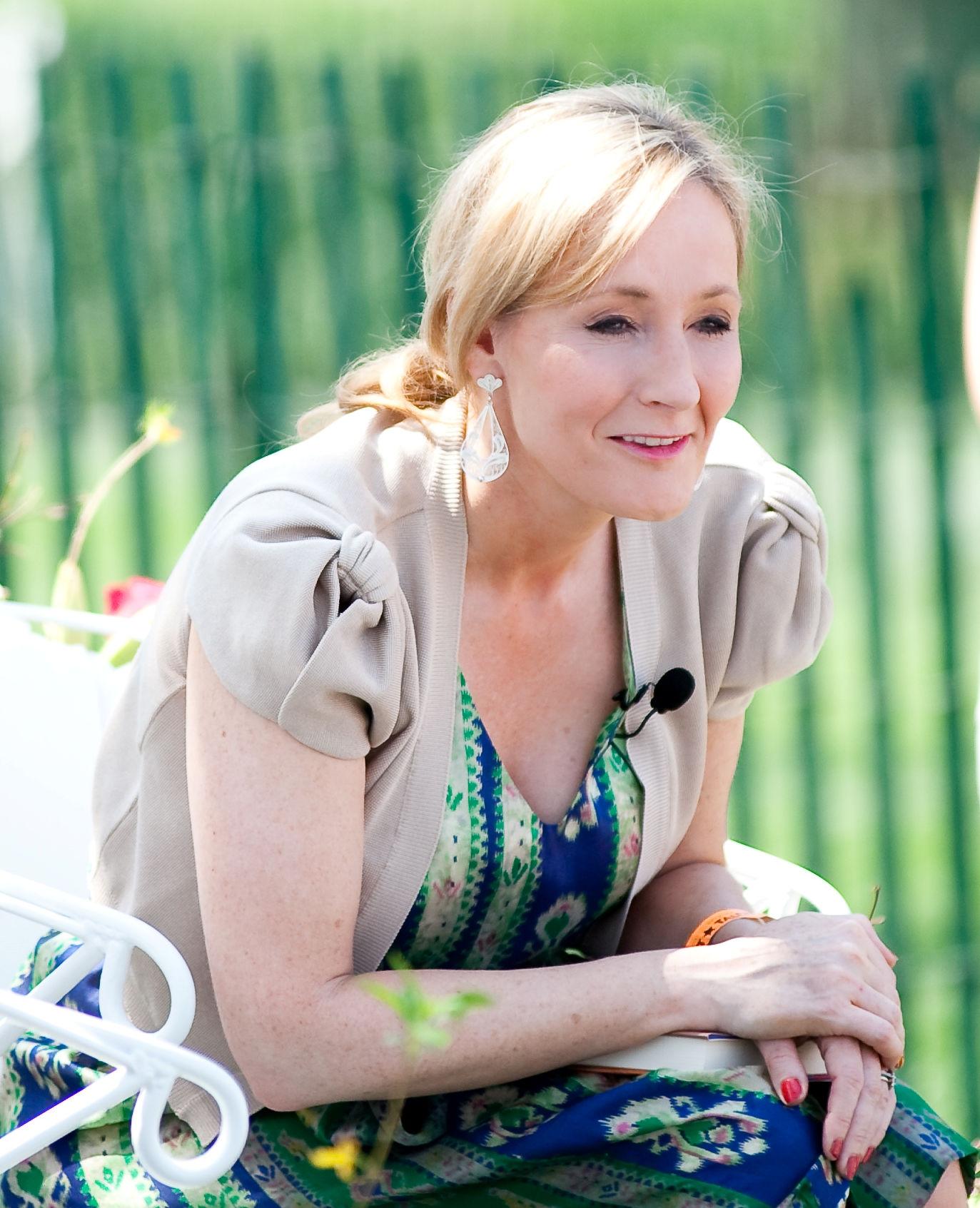 Photo of J. K. Rowling: British novelist