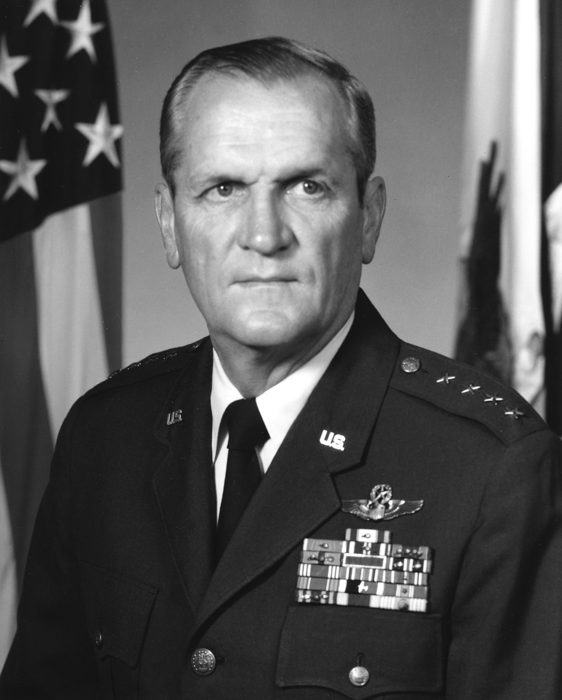 Photo of James A. Hill: United States Air Force general