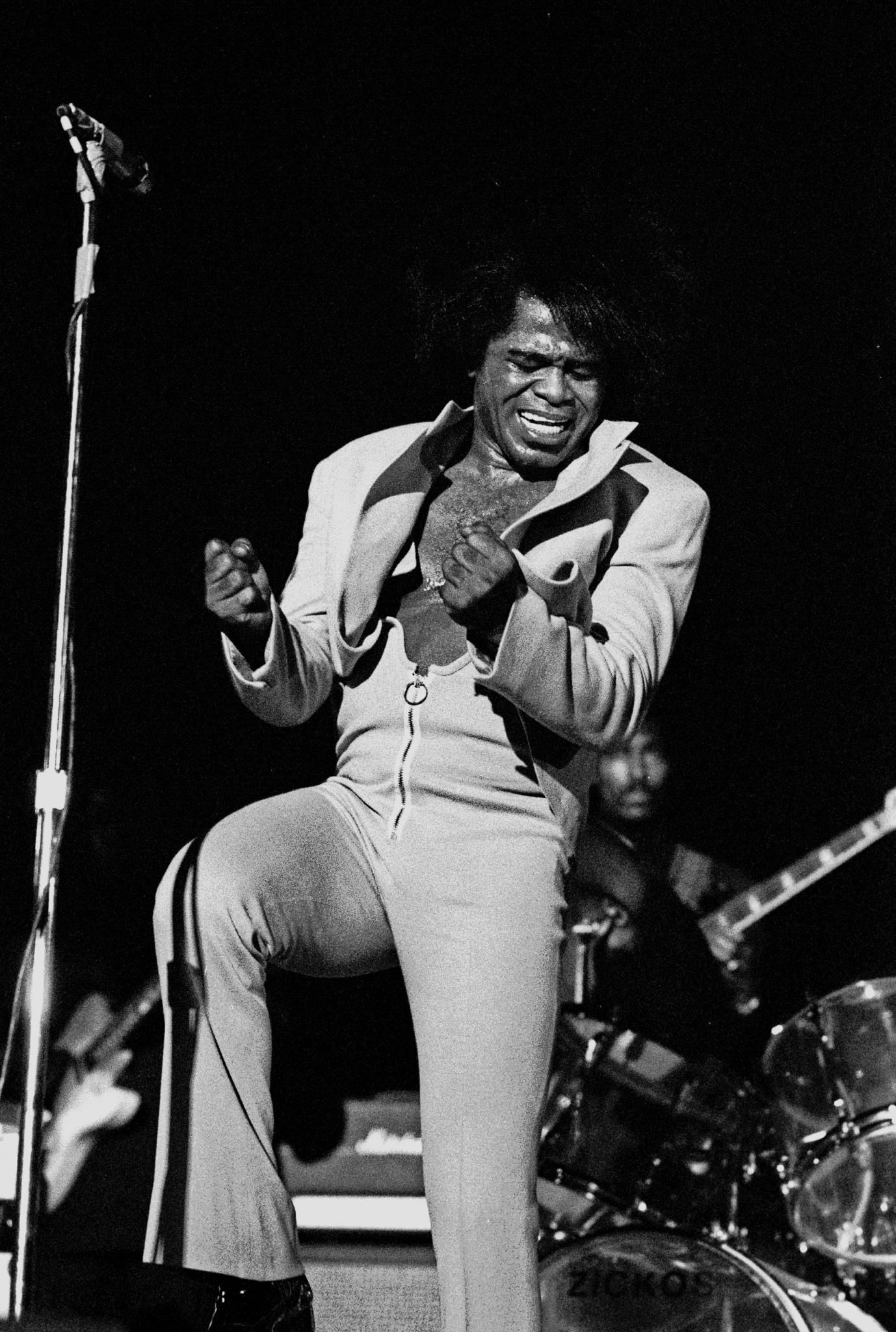 Photo of James Brown: American singer, songwriter, musician, and recording artist