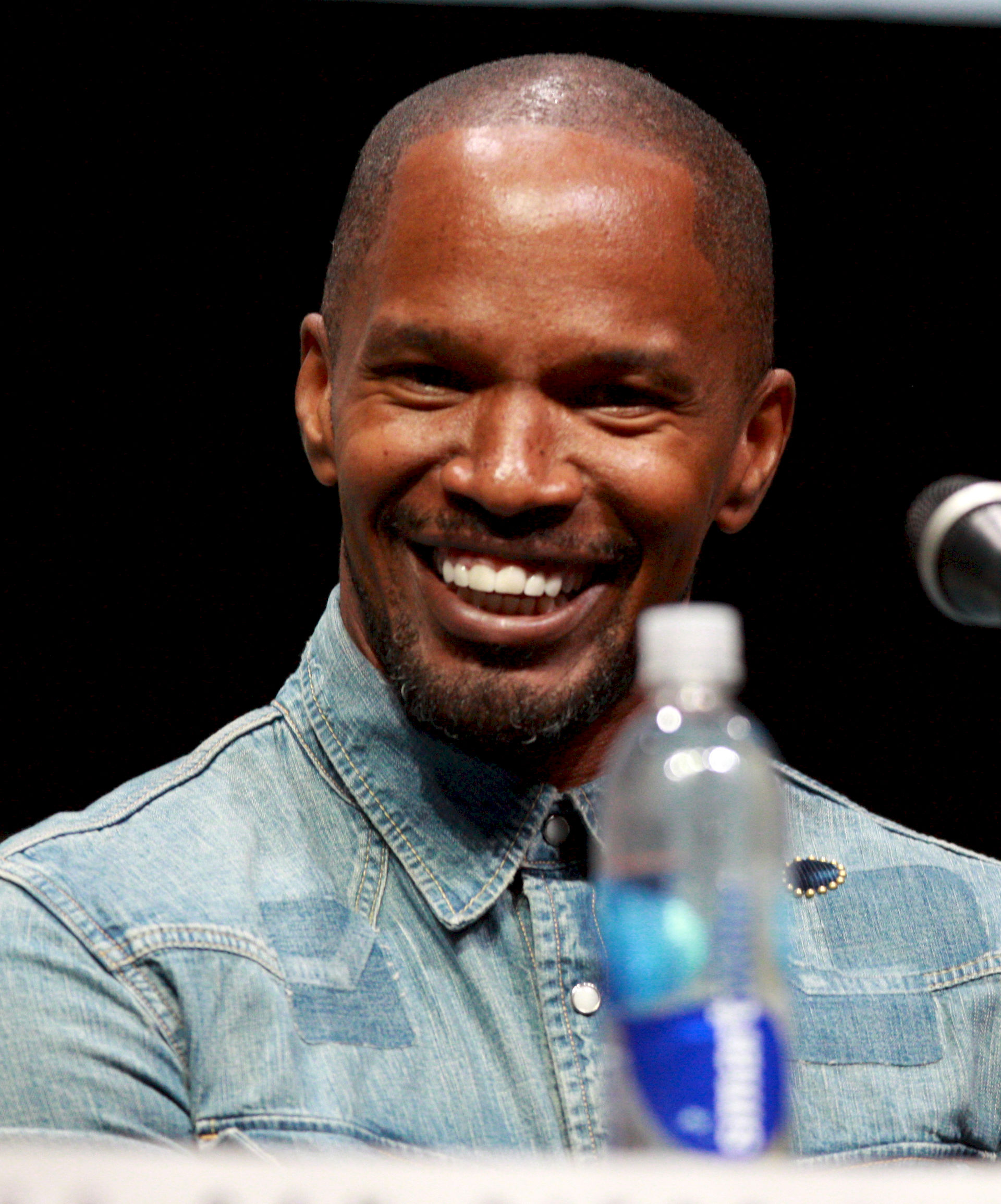 Photo of Jamie Foxx: American actor, stand-up comedian, musician, and talk radio host
